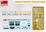 MiniArt 1/35 German Traffic Tractor D8532 # 38041
